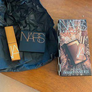 New NARS Laguna lipstick blush set